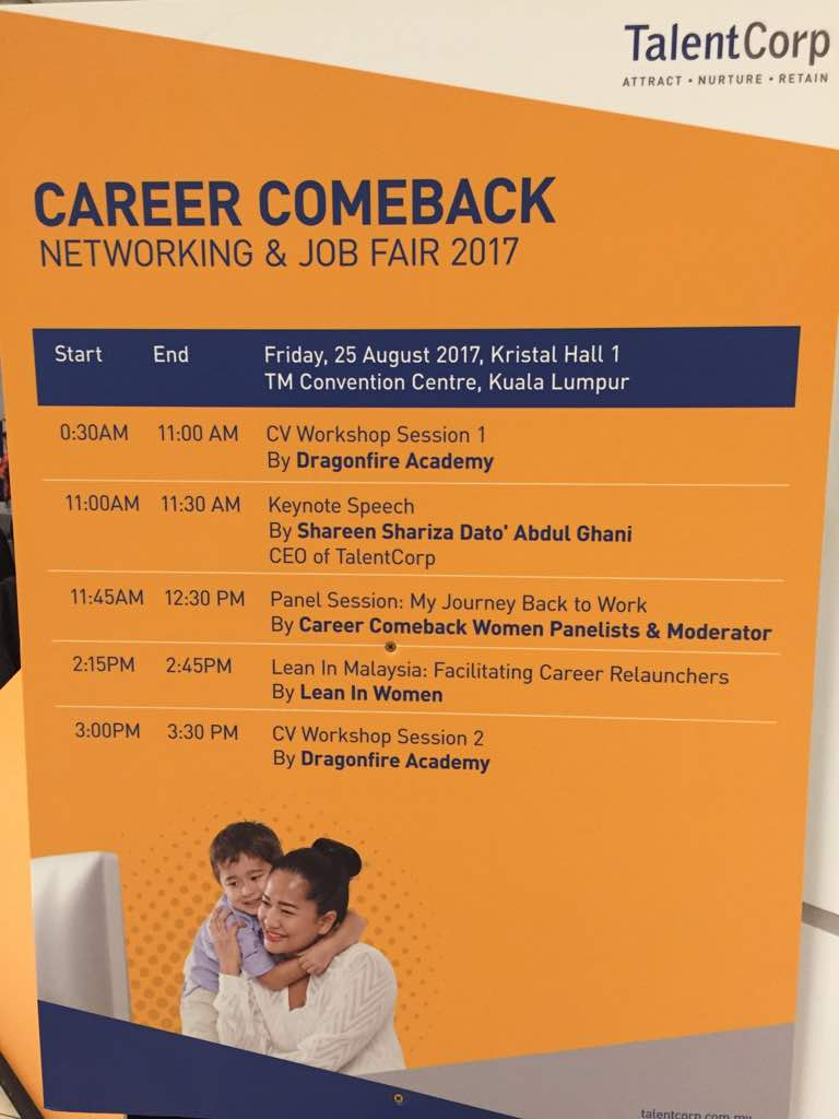 Photo of Career Comback Main Stage Schedule
