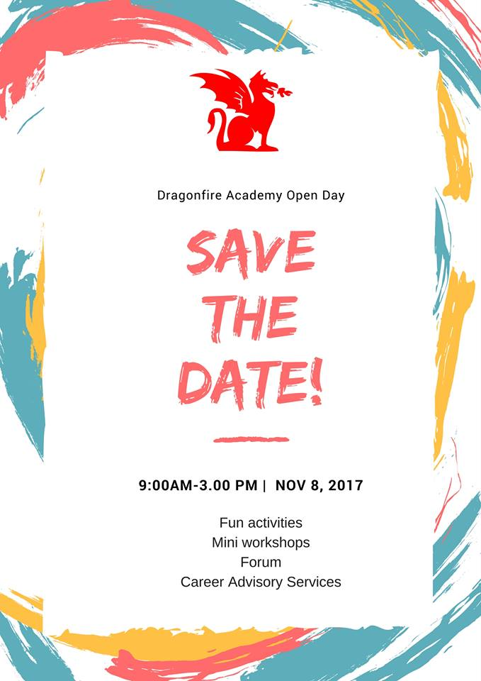 Graphic for Dragonfire Academy Open House