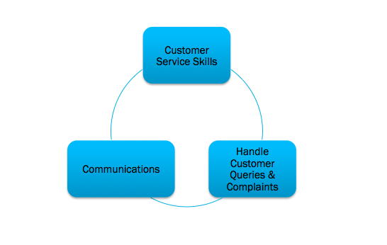 Graphic of a customer experience framework